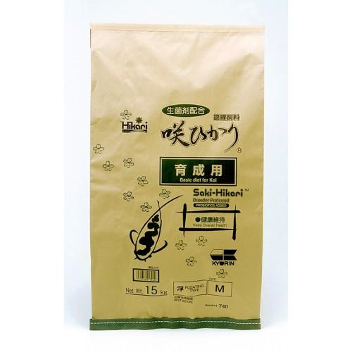 Saki Hikari Balance M 15kg. (Topbasisvoer) Voer