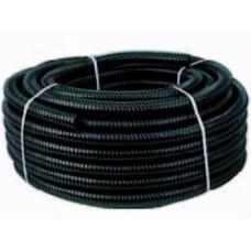 Zwarte Slang Met Spiraal Dunwandig 20 Mm